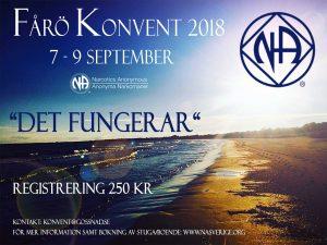 Konvent Fårö | Det Fungerar | Anonyma Narkomaner Sverige